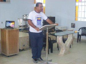 Orador oficial do acampamento